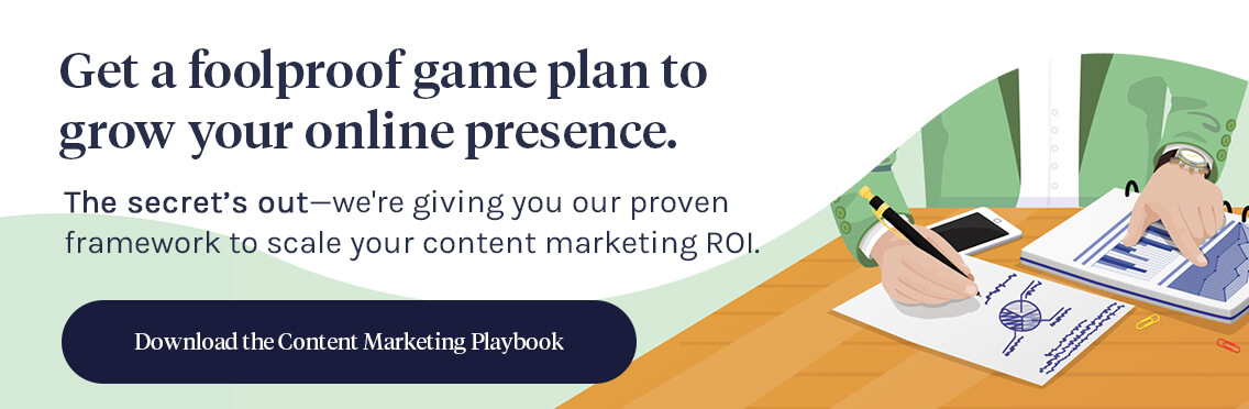 Content Marketing Playbook CTA